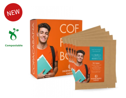 Box mit 5 Coffeebags - individuelles Label